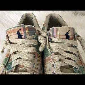 Ralph Lauren canvas shoes from Journeys Store